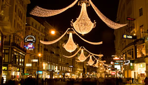 Christmas in Vienna, lights